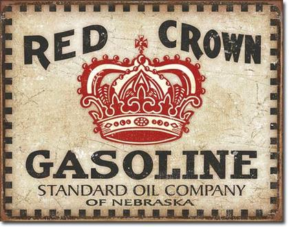 Red Crown Gasoline - Checker Board