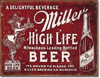 Miller -  High Life Beer