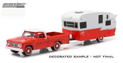 Dodge D-100 1962 with 15' Shasta Airflyte - Hitch & Tow Series 4