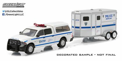 Dodge Ram 1500 2014 NYPD with Horse Trailer - Hitch & Tow Series 4