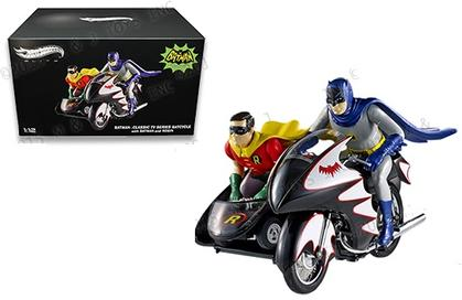 Batcycle 1966 Batman (With Figures)