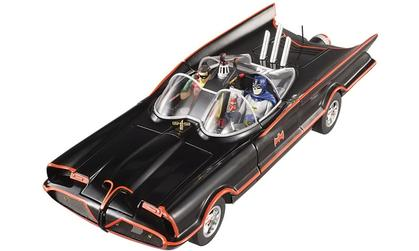 Batmobile 1966 TV Series Batman (With Figures)1 left