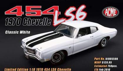 Chevrolet Chevelle 454 LS6 1970