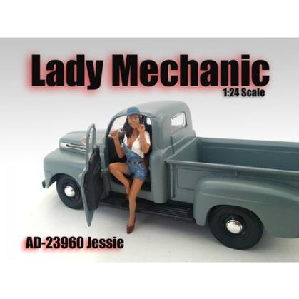 Figure Lady Mechanic