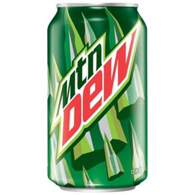 Mountain Dew Die Cut Can