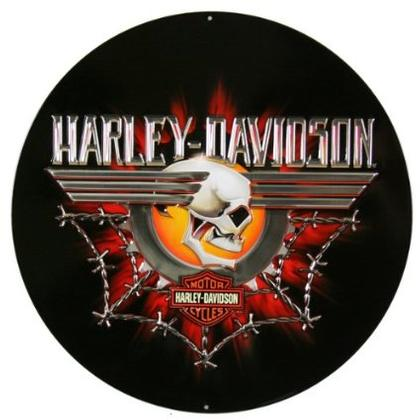 Harley-Davidson Gearhead Skull