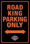 Harley Davidson Road King Park Embossed