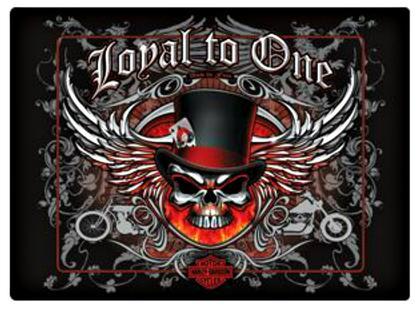 Harley Davidson ® Loyal To One Skull