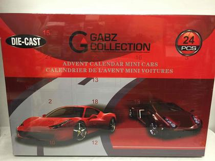 Advent Calendar with diecast car !