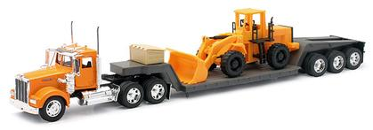 Kenworth W900 Tractor with Wheel Loader