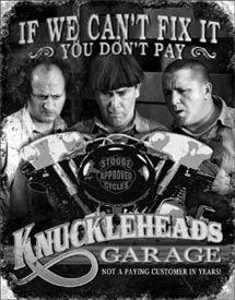 KNUCKLEHEAD GARAGE