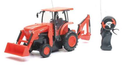 Remote Control Kubota L6060 with loader and backhoe