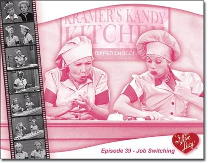 I Love Lucy - Episode 39 - Job Switching