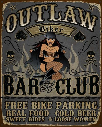 Outlaw Biker - Bar and Club