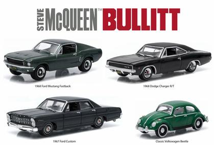 Hollywood Film Reels - Steve McQueen Bullitt