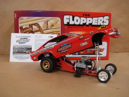 The Floppers 1320 Nitro Funny Car Dick Harrell