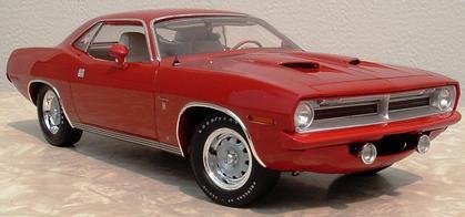 Plymouth Cuda 1970 Ronnie Sox