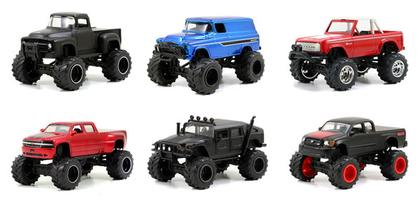 Set of 6 trucks of Just Trucks Series 9
