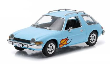 1977 AMC Pacer in Light Blue with Flames