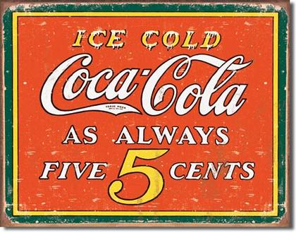 Coca-Cola Always 5 cents