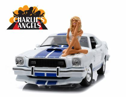 Ford Mustang Cobra II 1976 Charlie's Angels (W/ Figure)