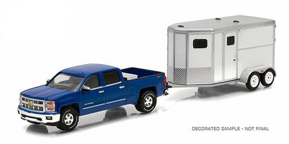 Chevrolet Silverado 2015 with Horse Trailer