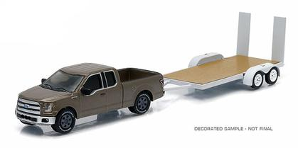 Ford F-150 2015 with Flatbed Trailer