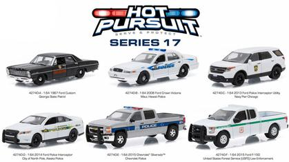 1:64 Set Hot Pursuit Series 17