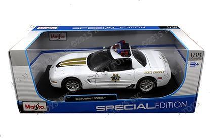 Chevrolet Corvette Z06 2001 Police
