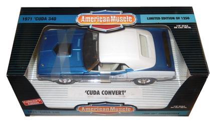 Plymouth Cuda 340 1971 Convertible