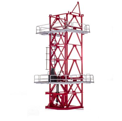 Potain MDT 178 Climbing Cage Red
