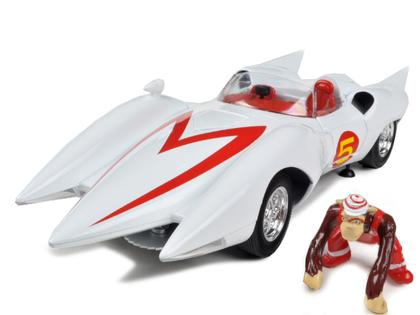 Speed Racer Mach 5 with monkey figure