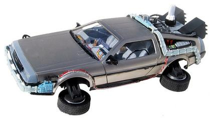 DMC DeLorean Back to the Future II Time Machine
