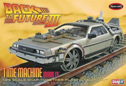 DMC DeLorean Back to the Future III Time Machine Mark IV Final Act