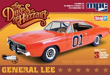 Dodge Charger 1969 Dukes of Hazzard General Lee *model kit*