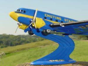 plane Douglas DC-3/C - Chuting Stars 1963