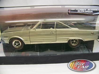 Plymouth Belvedere II 1967 Silver Special **Just 1 only**