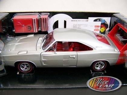 Dodge Charger Daytona HEMI 1969 - Silver Poly *1 only*