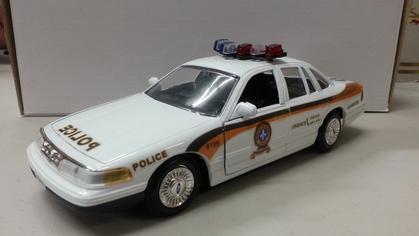 Ford Crown Victoria police Surete du Quebec