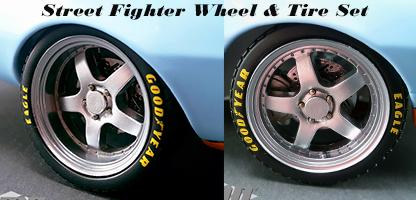 Street Fighter Track Pack Wheel and Tire Set