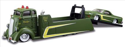 Ford COE Flatbed with Chevrolet El Camino 1987