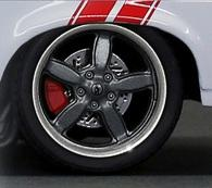 Set of 4 Five Spoke Wheels/Tires