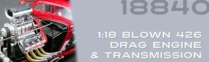 Supercharged HEMI motor & transmission