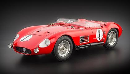 Maserati 300S, #1 24H France, 1958