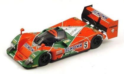 Mazda MXR-01 #5 Le Mans 1992