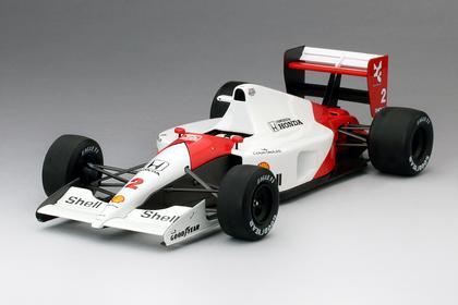 Mclaren Honda Mp4/6 #2 Berger 2Nd Gp San Marino 1991