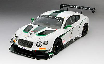 Bentley GT3 #7 2014 Winner Blancpain GT Silverstone