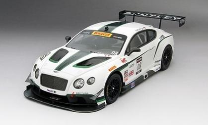 Bentley Gt3 #08 Dyson Racing 3Rd Place Sonoma Gp 2014