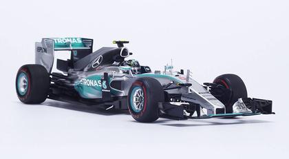 Mercedes W06 #6 Winner Monaco GP 2015 Nico Rosberg