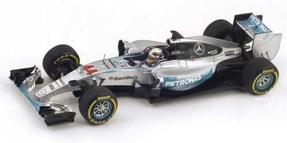 Mercedes W06 #44 Winner Italian GP 2015 Lewis Hamilton